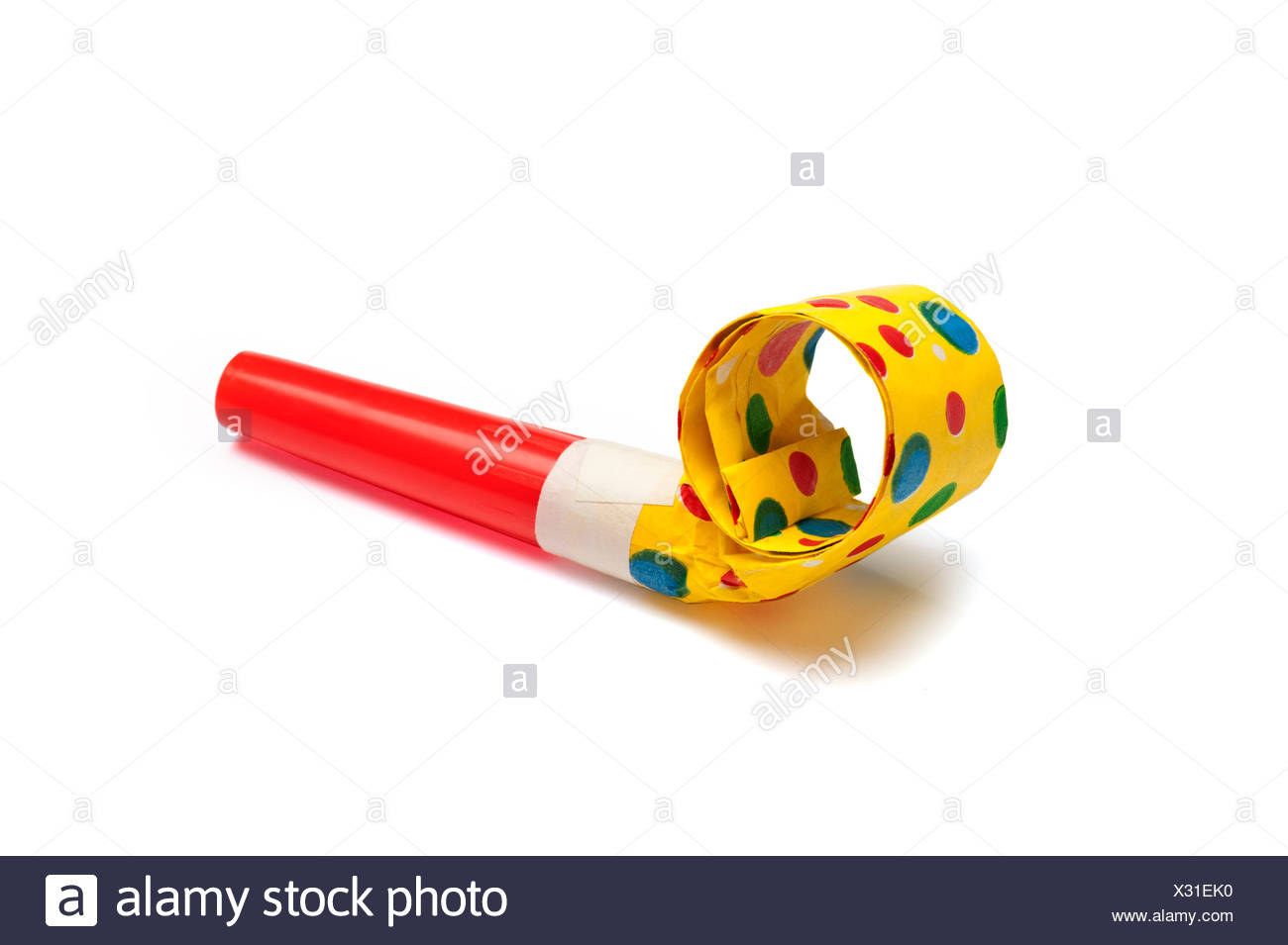 Party Blower: A Party Blower Stock Photo: 277243316