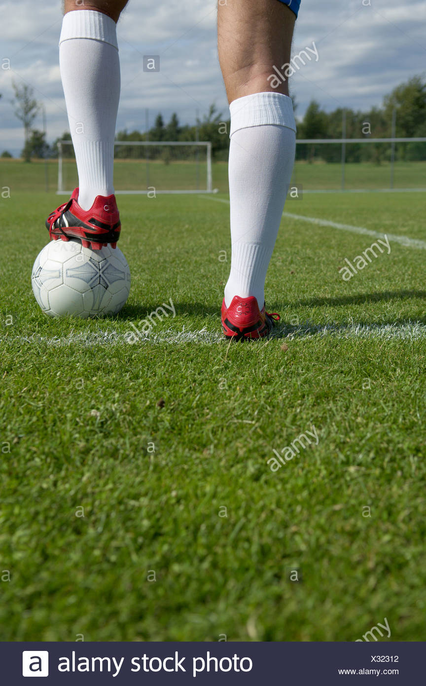 014a43990f2 Soccer Shoes Soccer Field Stock Photos   Soccer Shoes Soccer Field ...