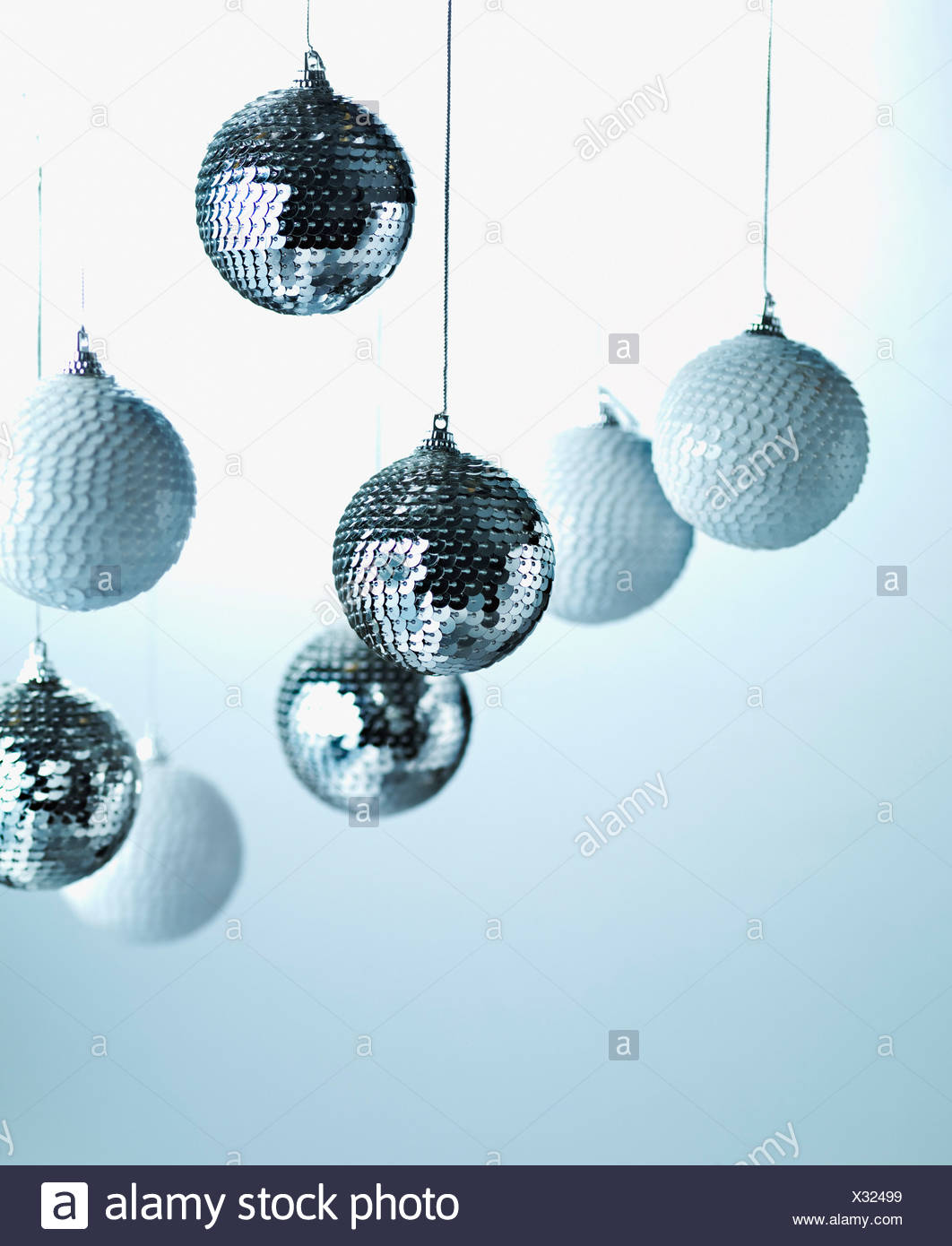 Hanging Christmas Ornaments Silhouette.Silhouette Group People Hanging Out Stock Photos