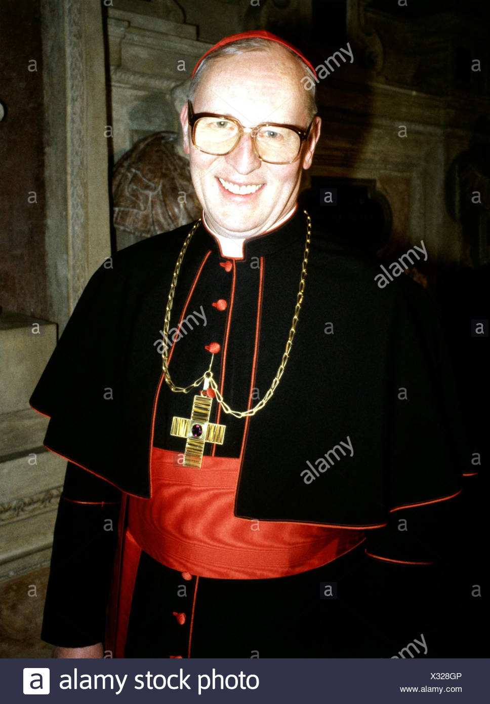 Wetter, Friedrich, Kardinal, * 20.2.1928, German clergyman, Archbishop of Munich, half length, high official, dignitary, dignita - Stock Image