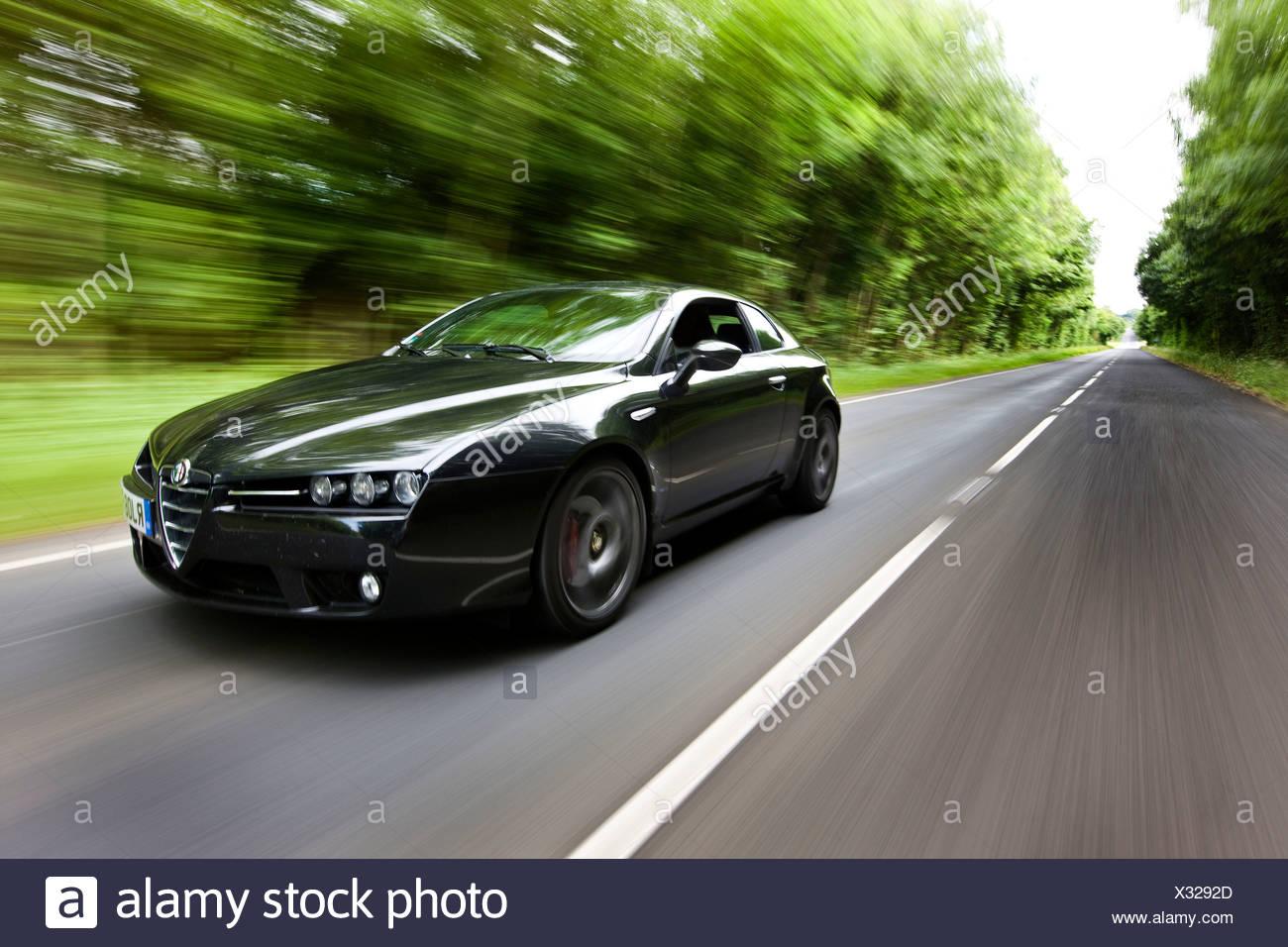 Alfa Romeo Brera S V6 Italian sports cars - Stock Image