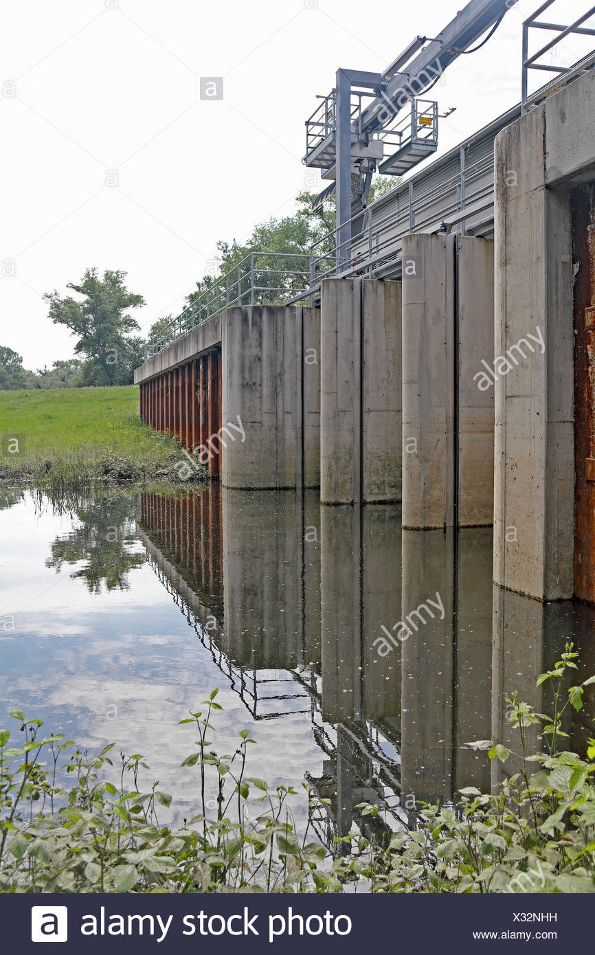 retaining lock - Stock Image