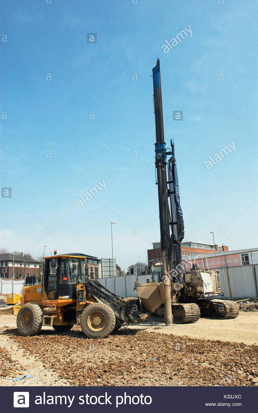 Piling Rig Stock Photos & Piling Rig Stock Images - Alamy