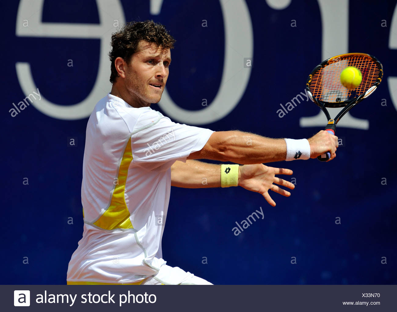 Michael Berrer, Germany, Mercedes Cup Stuttgart 2009, Baden-Wuerttemberg, Germany, Europe - Stock Image