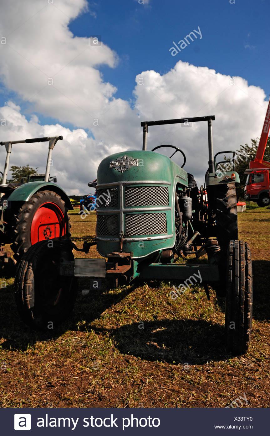 Mark Kramer, KL 220, built in 1958, Antique tractor meeting, Morschreuth, Upper Franconia, Bavaria, Germany, Europe - Stock Image