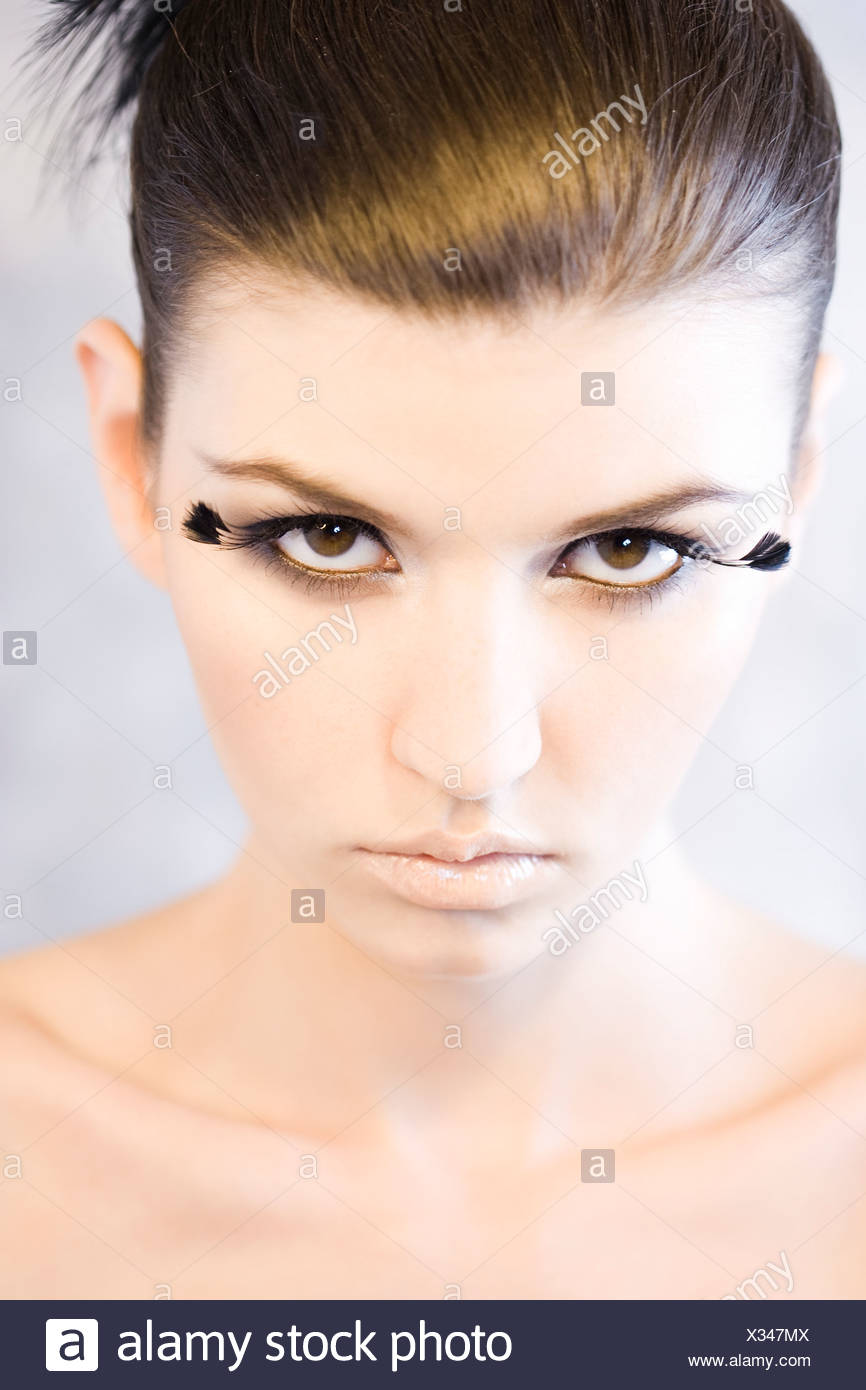 f154204cbf3 Fake Lashes Stock Photos & Fake Lashes Stock Images - Alamy