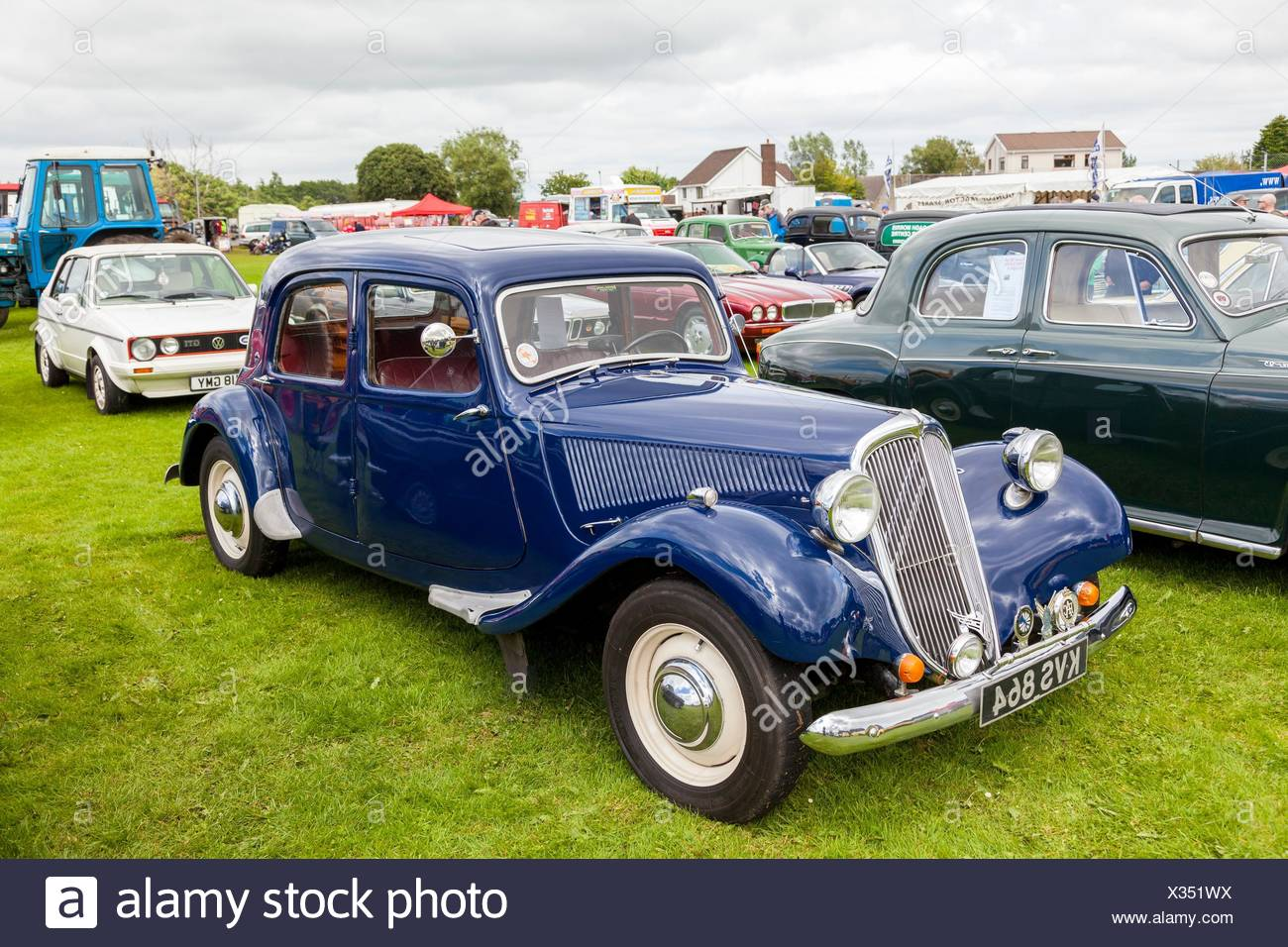 1952 Citroen Traction Avant This Model Was Built From 1934 To 1957