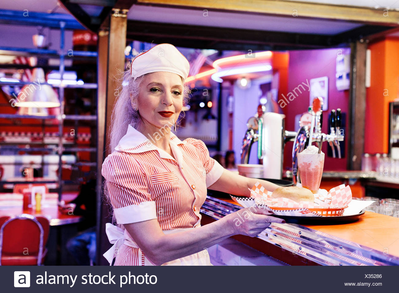 1950s Diner Stock Photos & 1950s Diner Stock Images - Alamy