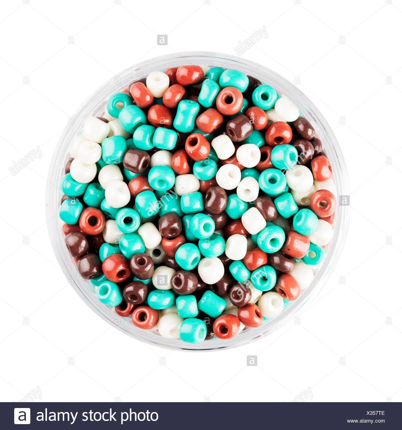 Colorful Glass Seed Beads Stock Photo: 277325790 - Alamy