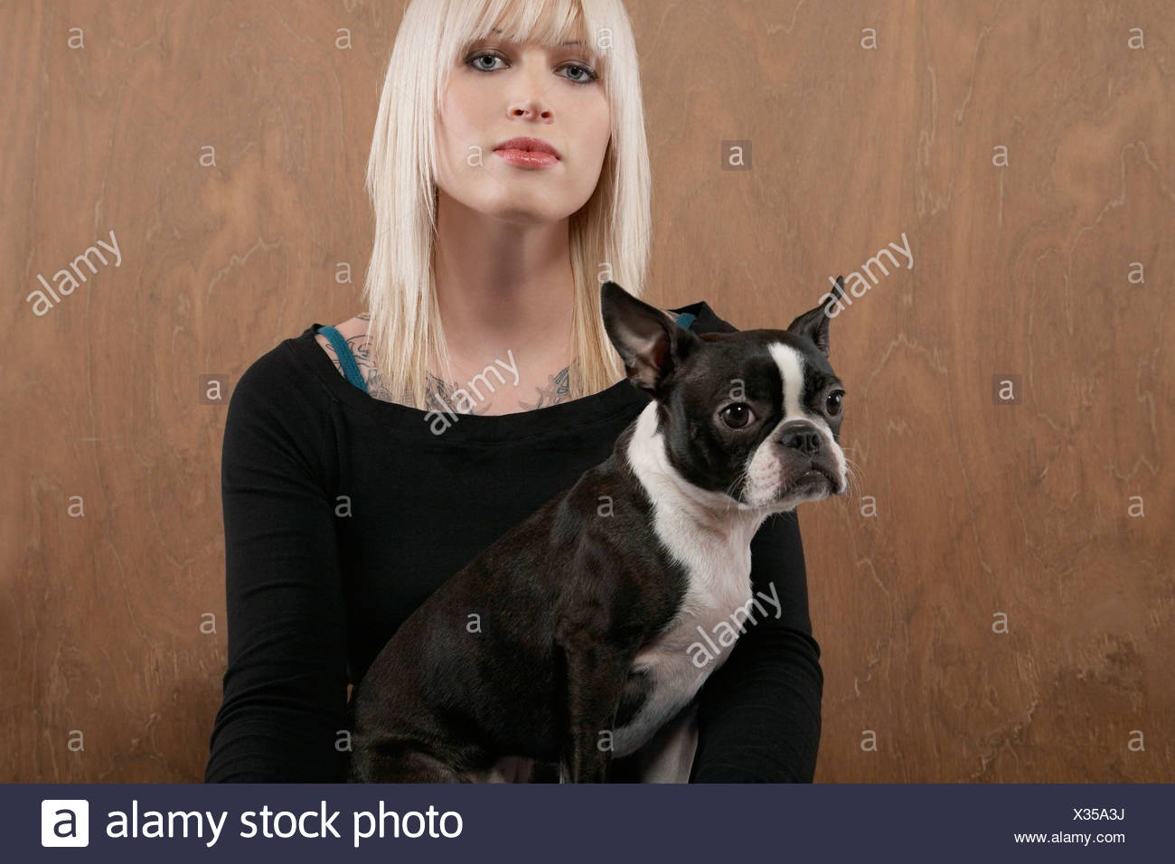 85e4ee0b750b Blonde Woman With Dog Stock Photos & Blonde Woman With Dog Stock ...
