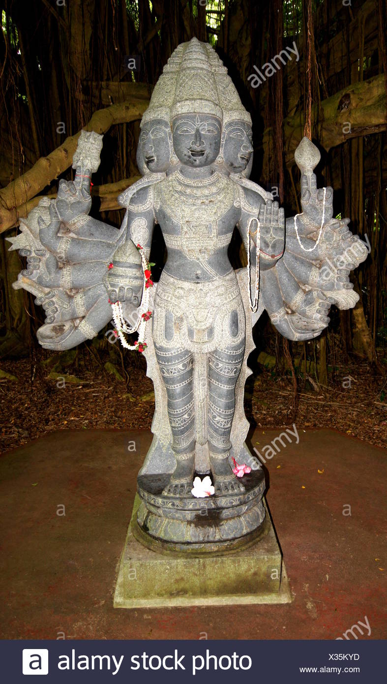 hinduist goddess,kauai,hawaii - Stock Image