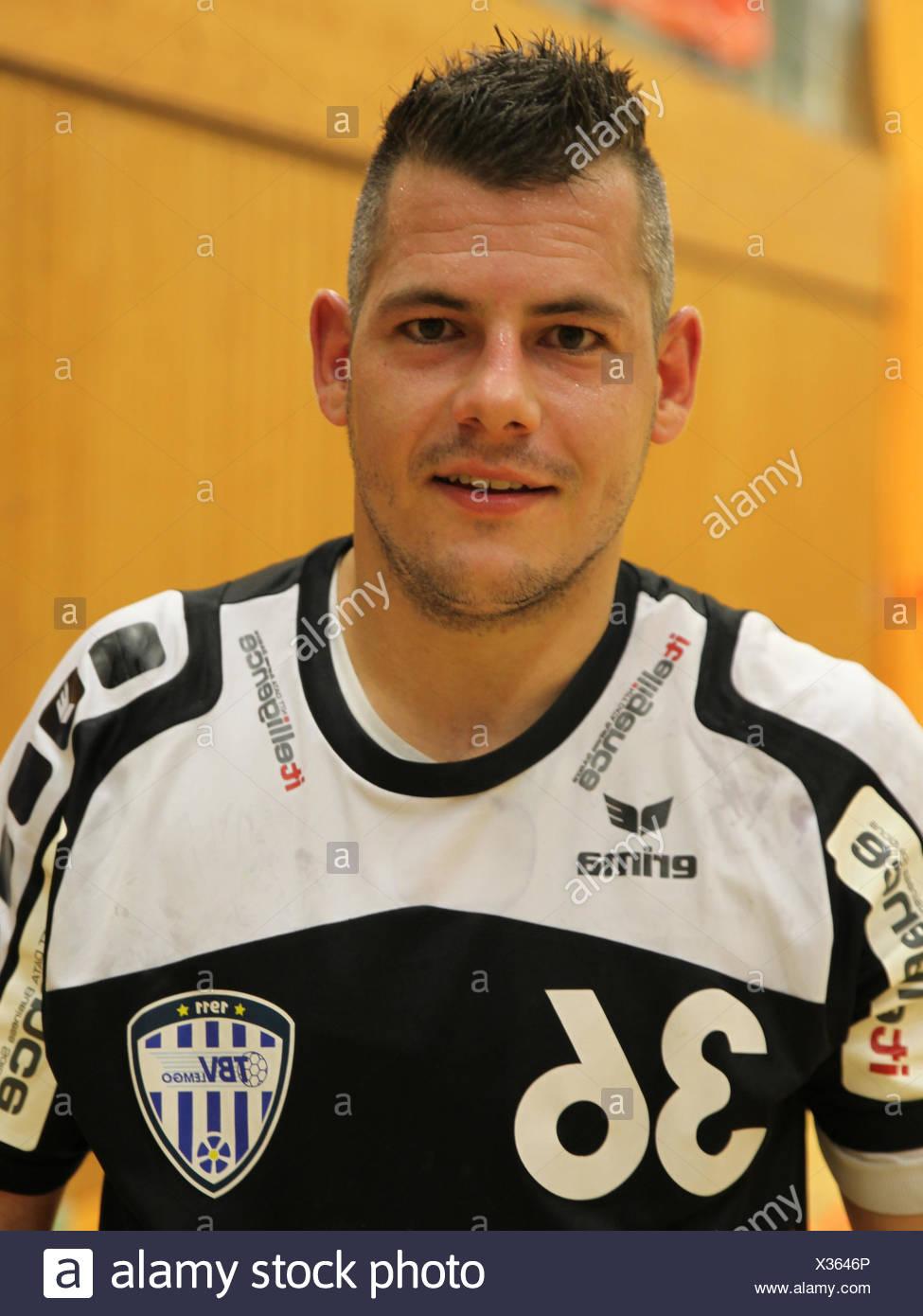 Arjan Haenen , TBV Lemgo - Stock Image
