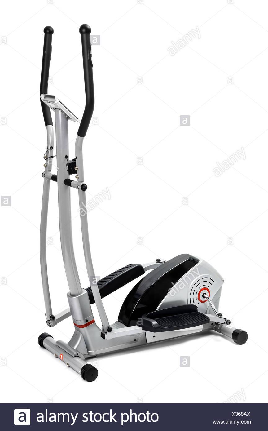 elliptical trainer machine - Stock Image