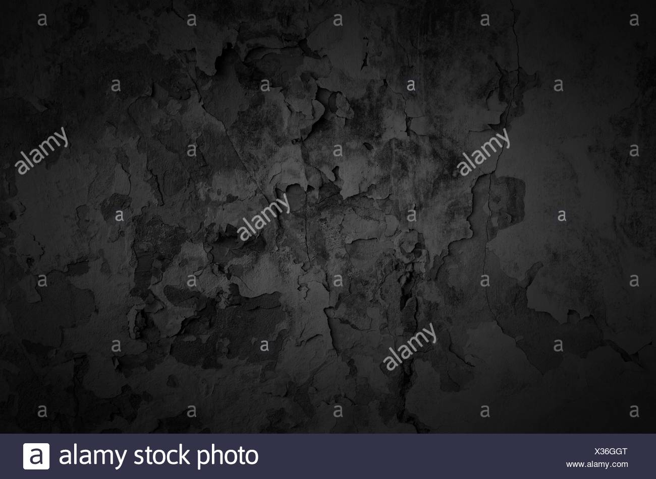 Shabby wall texture background - Stock Image
