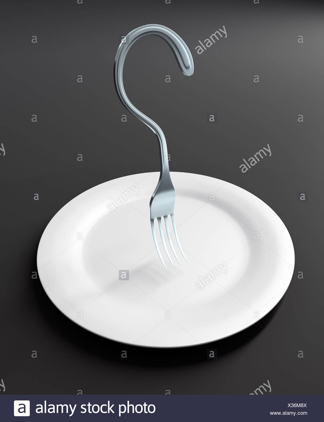 What's for lunch ? - Stock Image