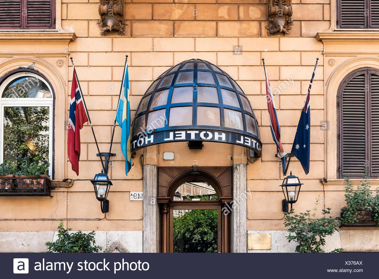 Hotel Quattro Fontane, Rome, Italy Stock Photo