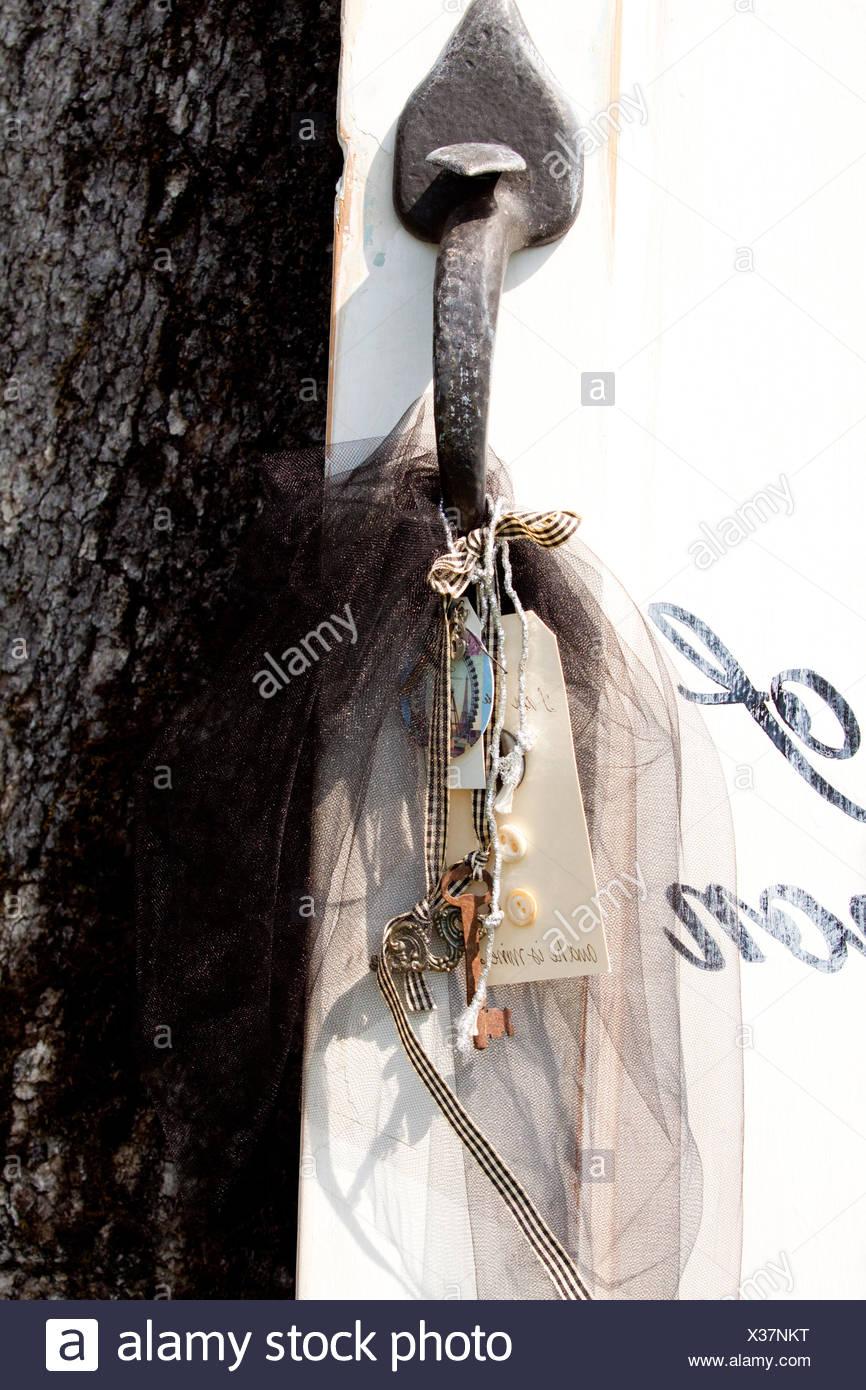 Door Handle Detail - Stock Image