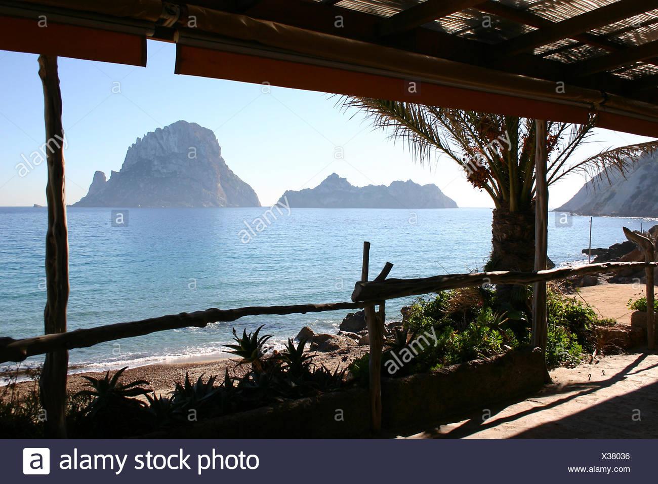 spain nature-sanctuary myths it isle island vedra ibiza spain baleareninsel - Stock Image