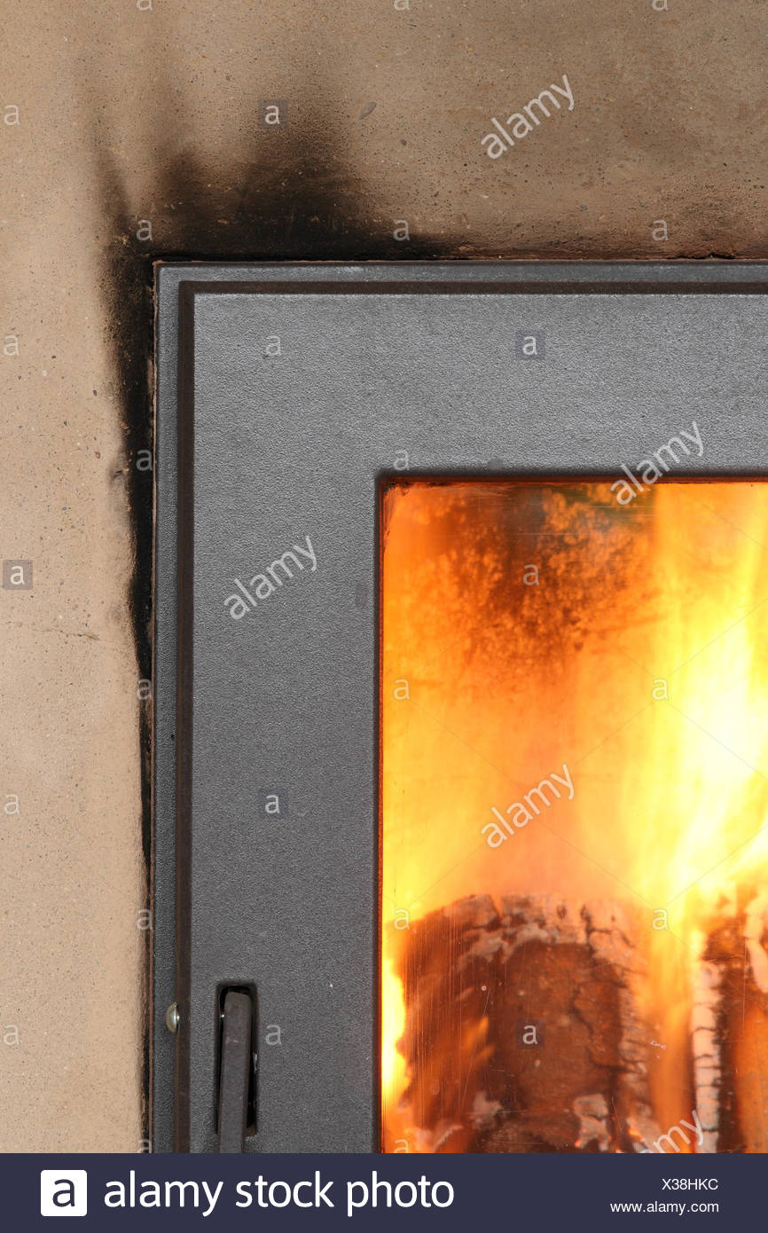 Wood Fired Loam Furnace   Stock Image