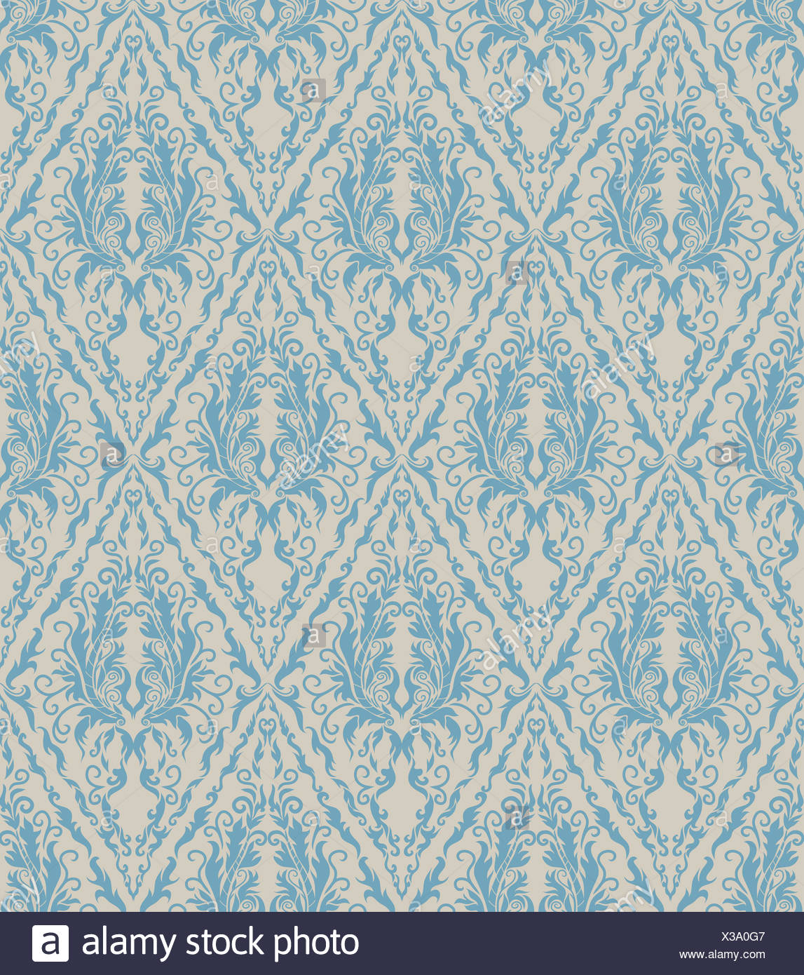 Floral Seamless Vector Royal Beauty Vintage Pattern
