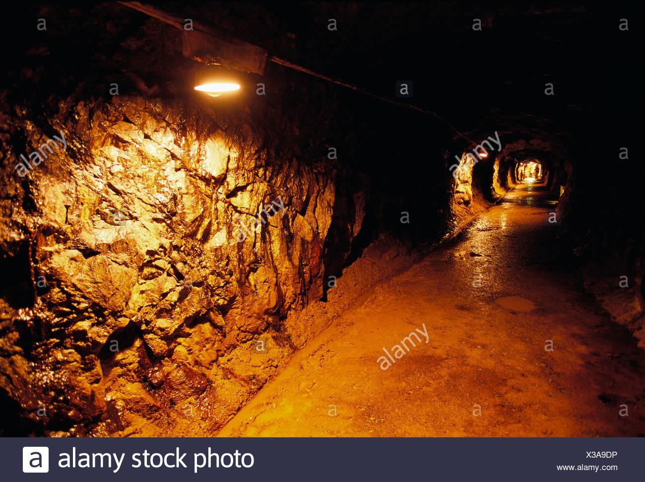 Falu copper mine, Dalarna, Sweden. - Stock Image