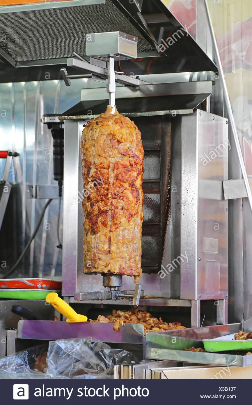 Doner Kebab - Stock Image