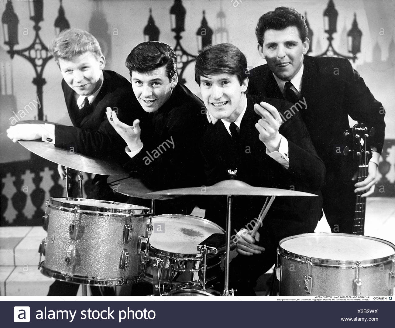 Searchers, The, founded in 1960, British Rock band, group picture, 1964, Additional-Rights-Clearances-NA - Stock Image