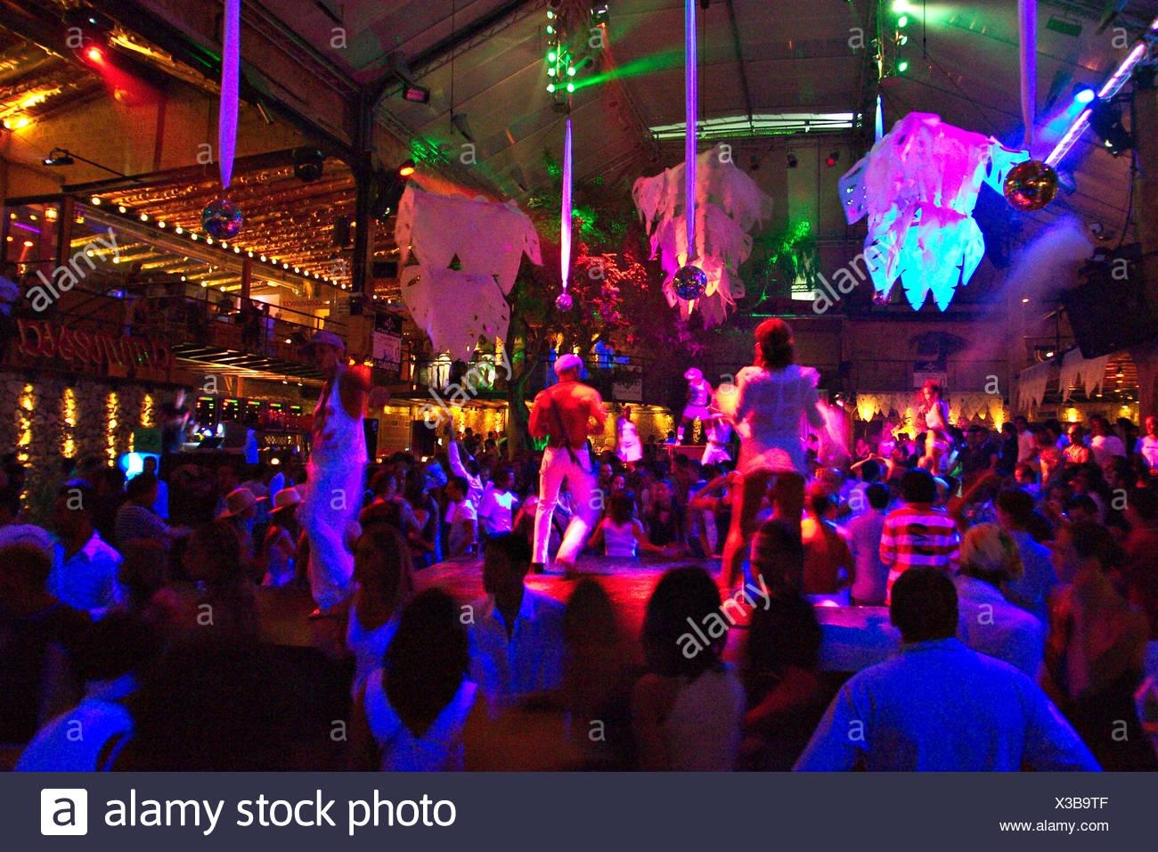 discotheque Amnesia near San Rafel in Ibiza - Stock Image