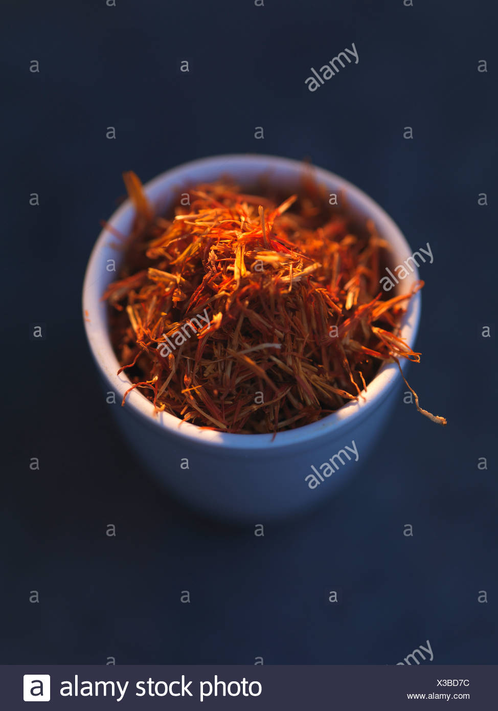 Saffron threads - Stock Image