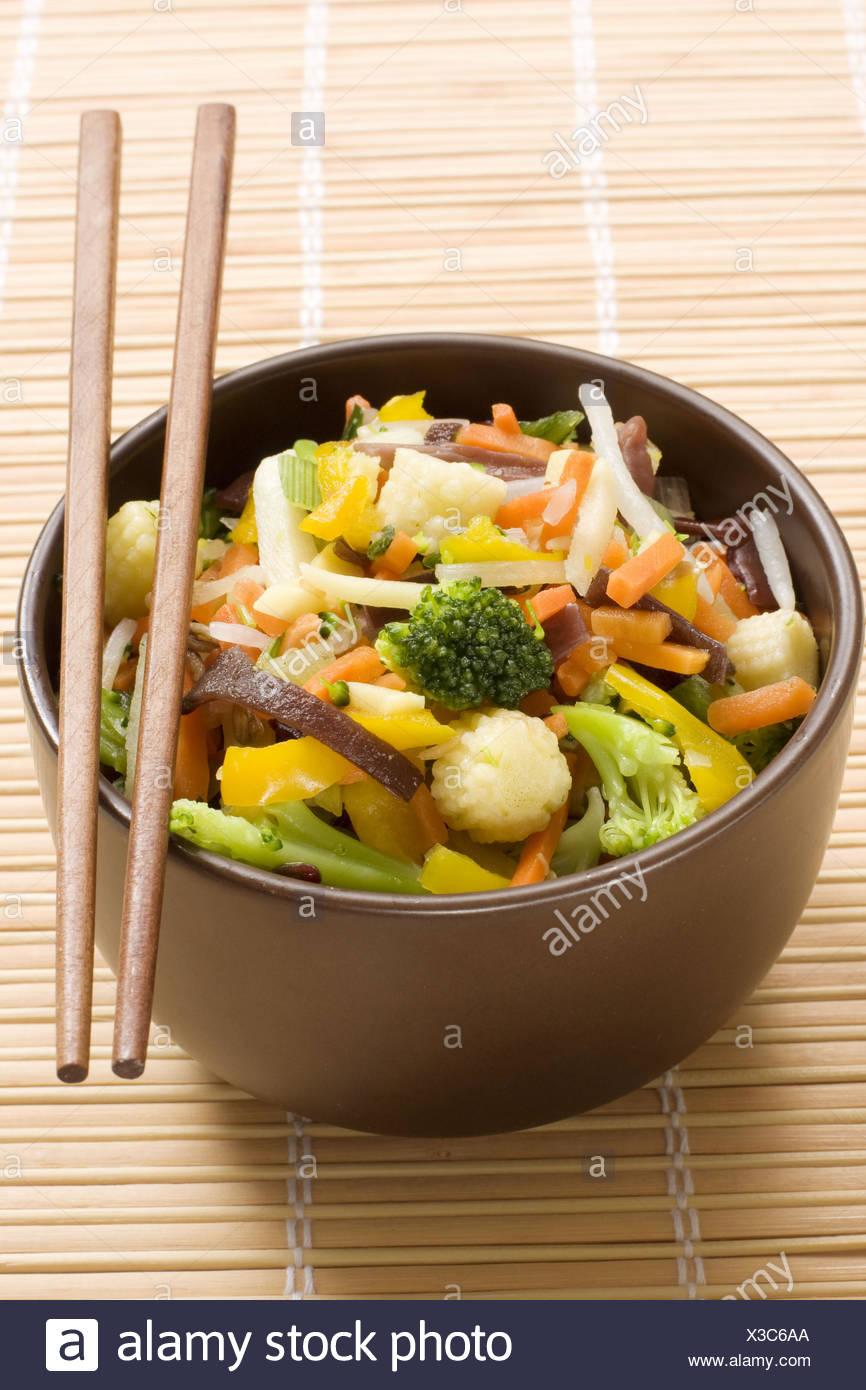 Salteado Tailandes Cocina De Wok Stock Photo 277478274 Alamy