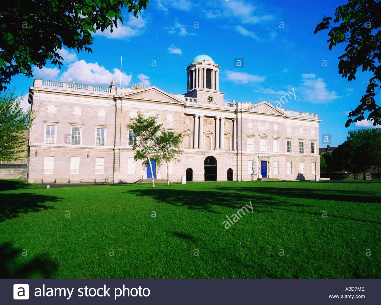 King's Inns, Dublin, Ireland; Exterior Of Institution Of Law And Justice - Stock Image