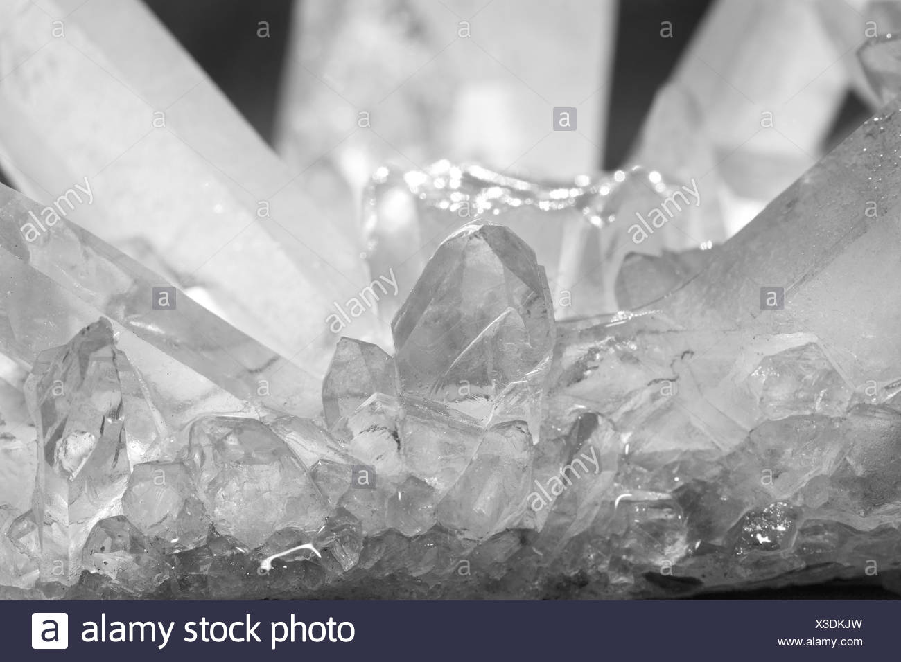 Rock crystal - Stock Image