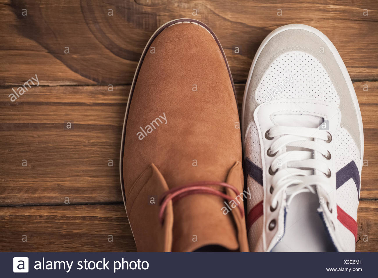 Casual and dressy mens shoes Stock Photo: 277522449 Alamy
