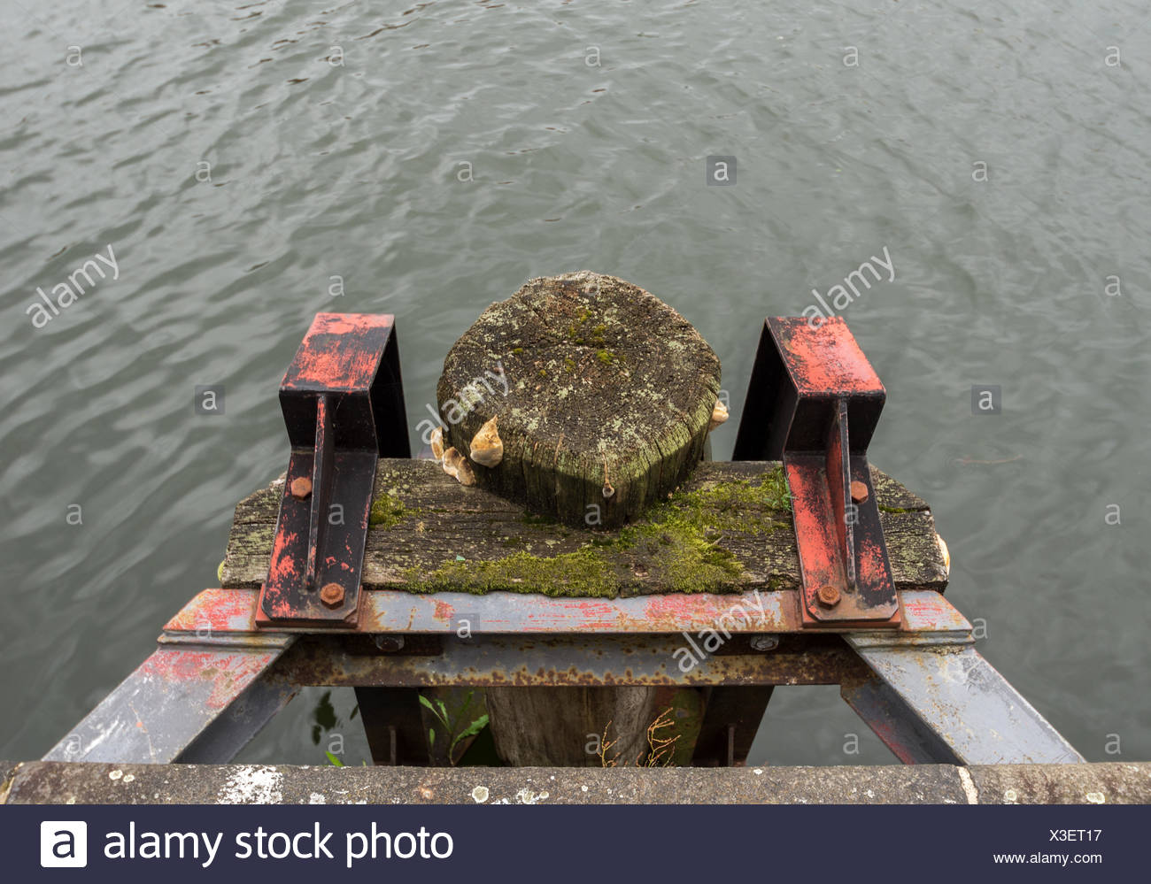 holder for boats - Stock Image