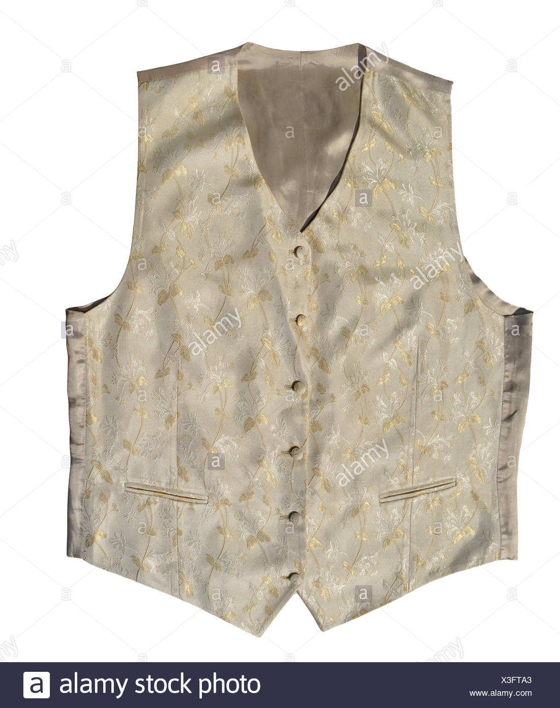Vintage vest - Stock Image