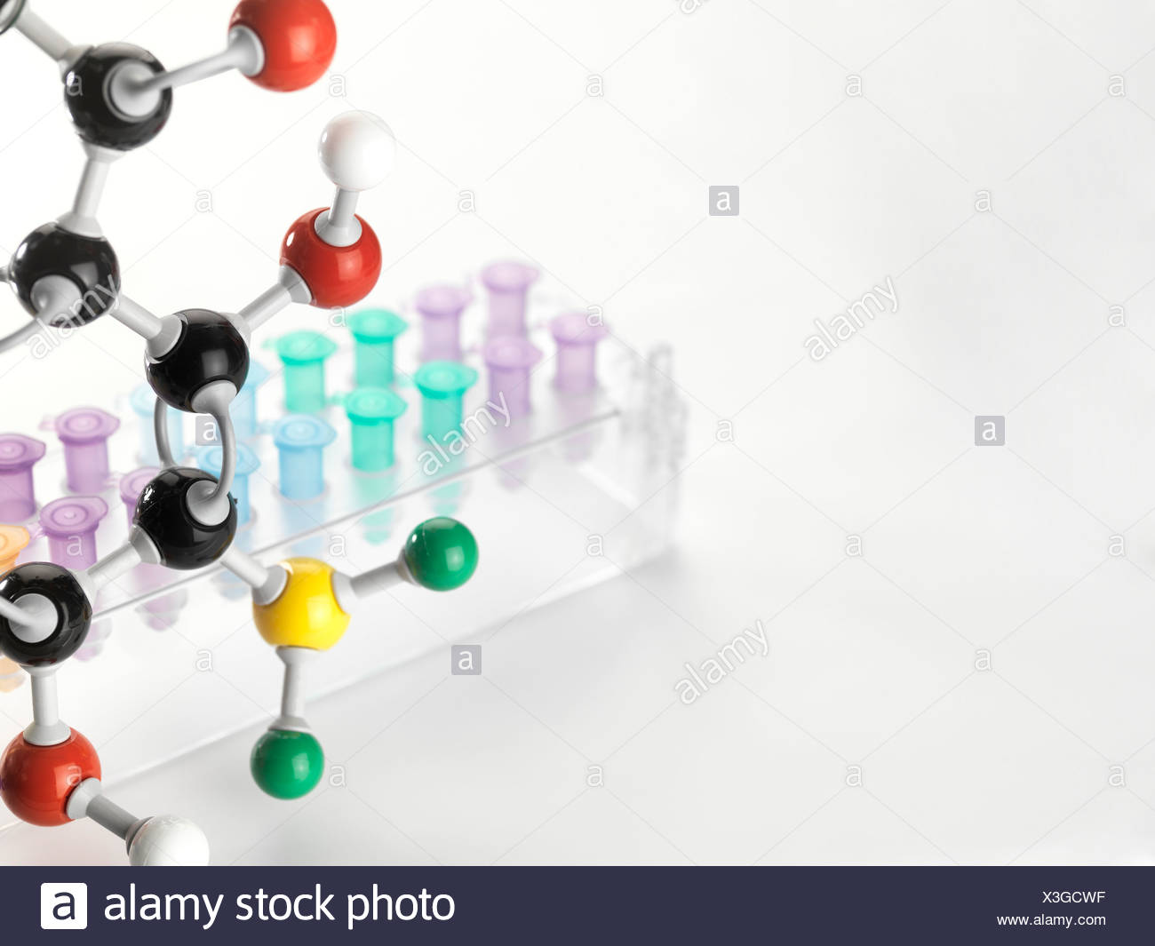 Chemical research conceptual image - Stock Image
