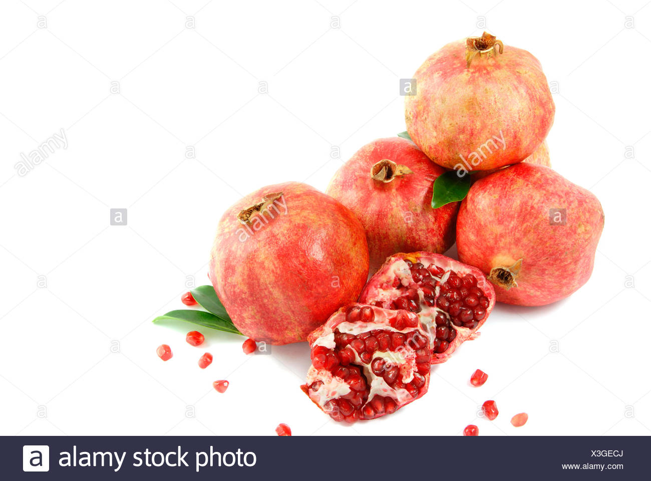 fruit heap emblements - Stock Image