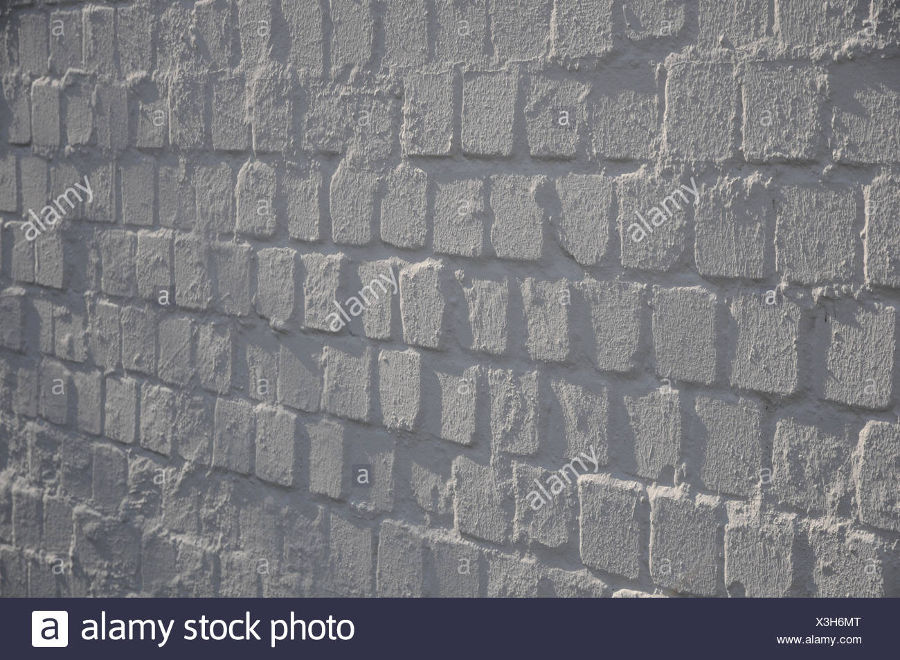 White brick-wall Stock Photo