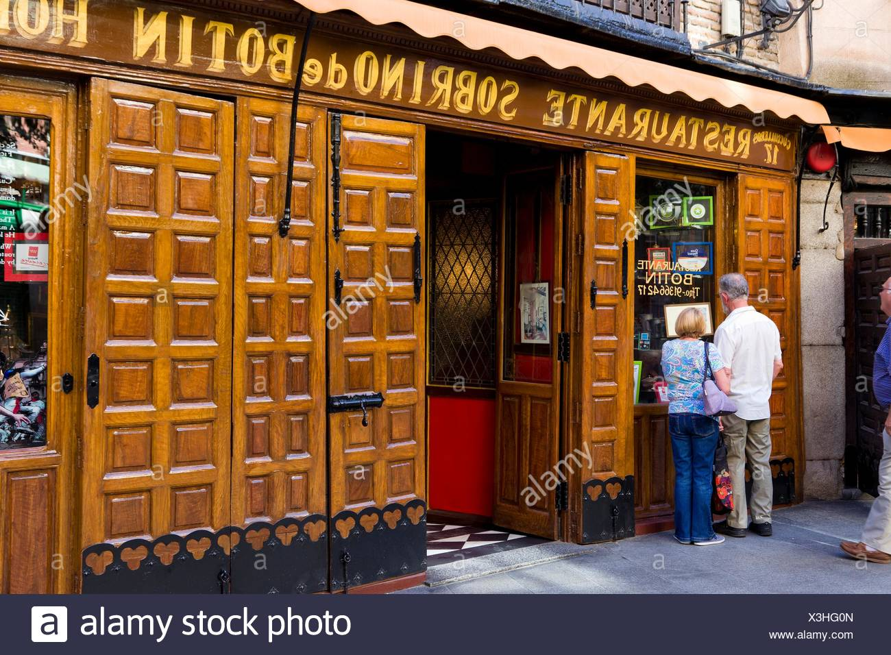 Botin madrid stock photos botin madrid stock images alamy for Casa botin madrid