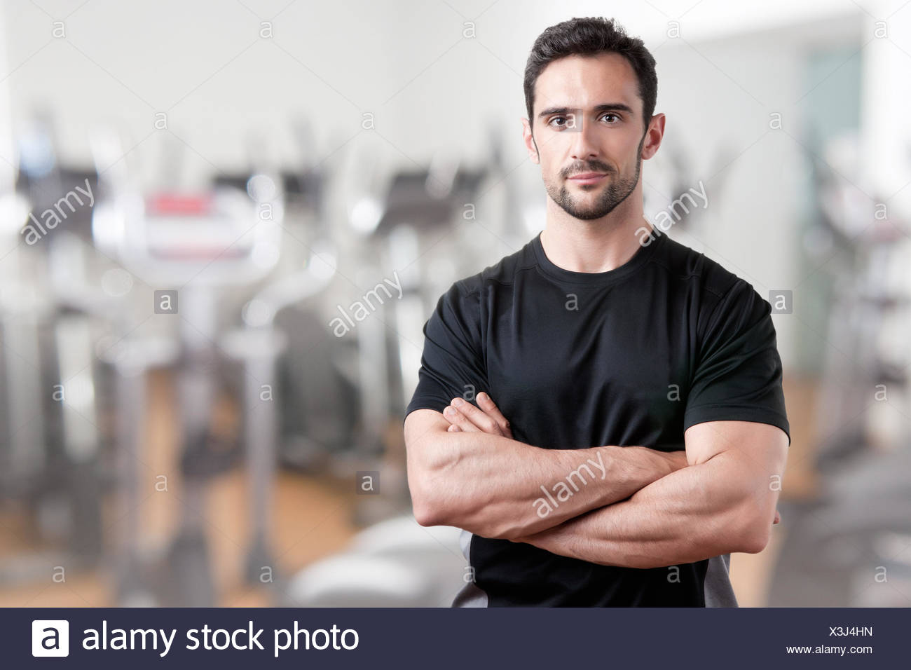 Personal Trainer - Stock Image