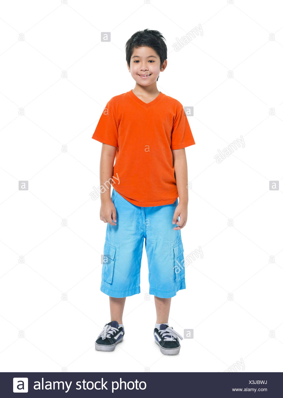 One Little Boy - Stock Image