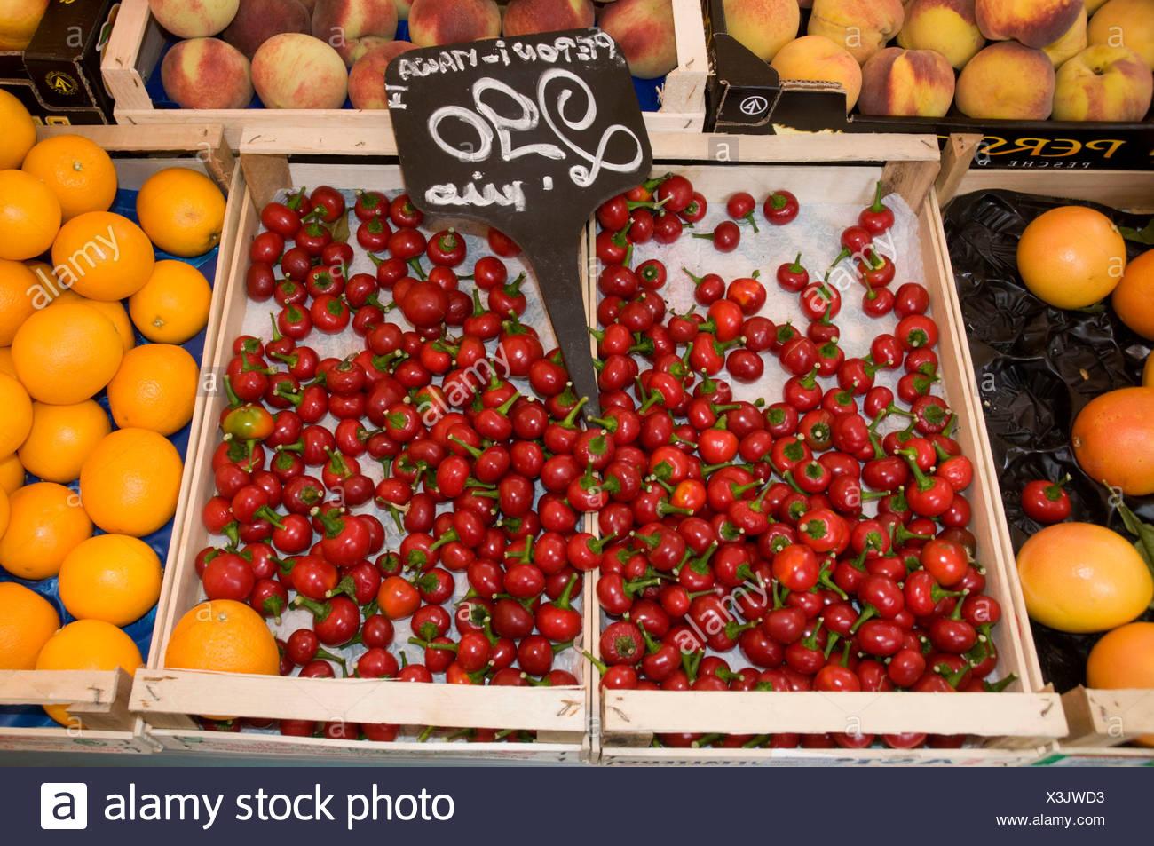 Market stall - Stock Image