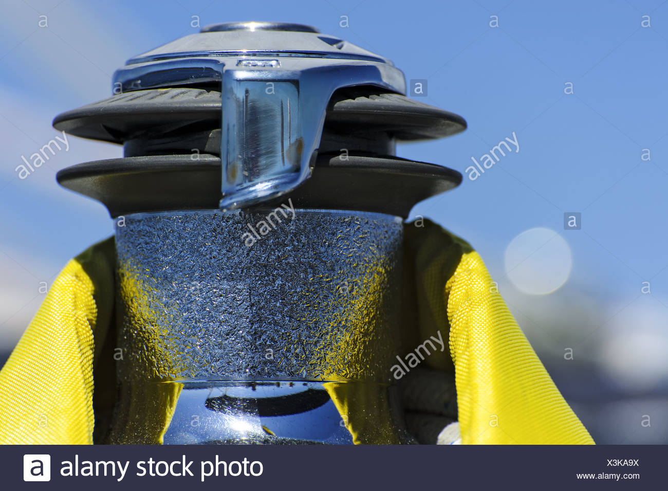 winch - Stock Image