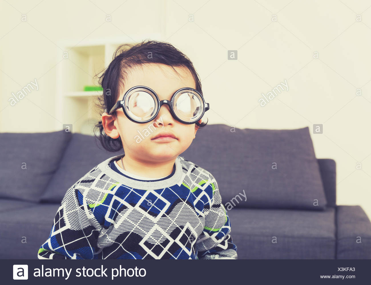 cba393d13cfea Boy Thick Glasses Stock Photos   Boy Thick Glasses Stock Images - Alamy