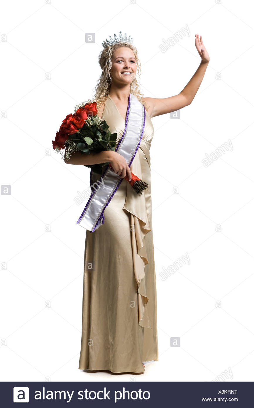 pageant winner - Stock Image