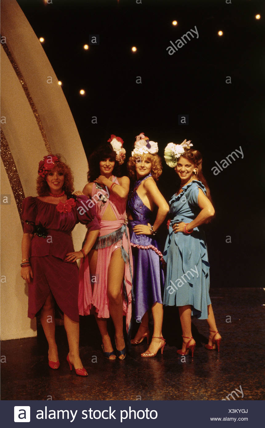 The Hornettes, German music band (pop), group picture, early