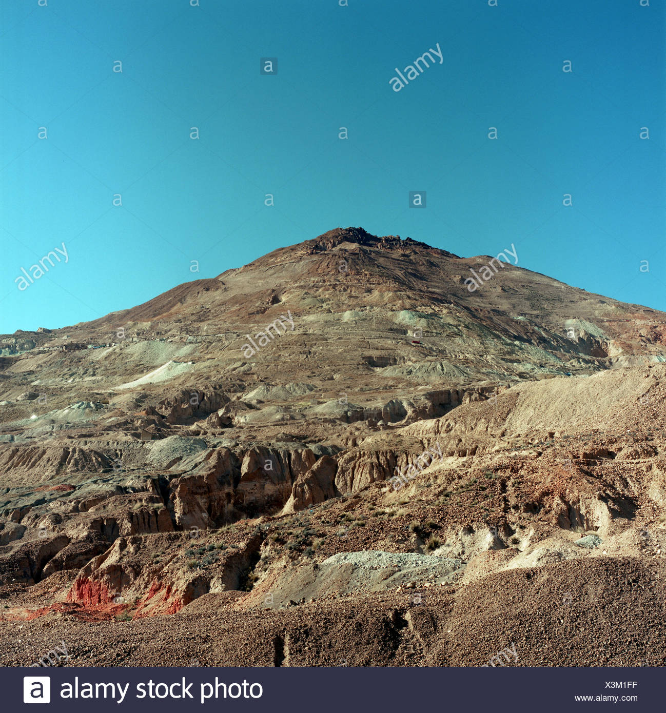 Mountain landscape, Linares, Potosi Department, Bolivia - Stock Image