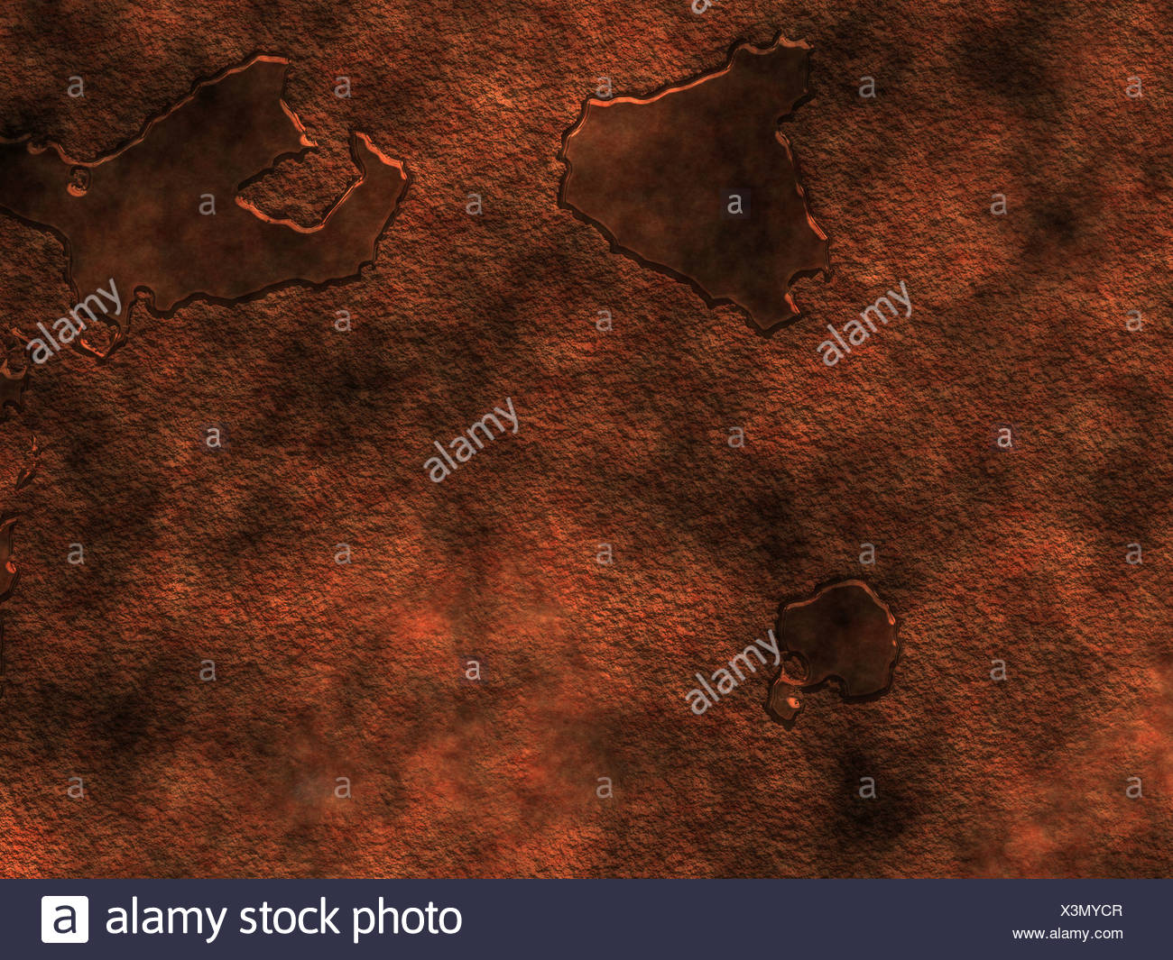 Rust metal - Stock Image