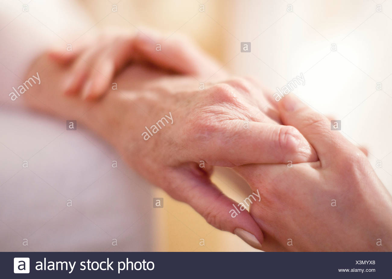 Geriatric care - Stock Image