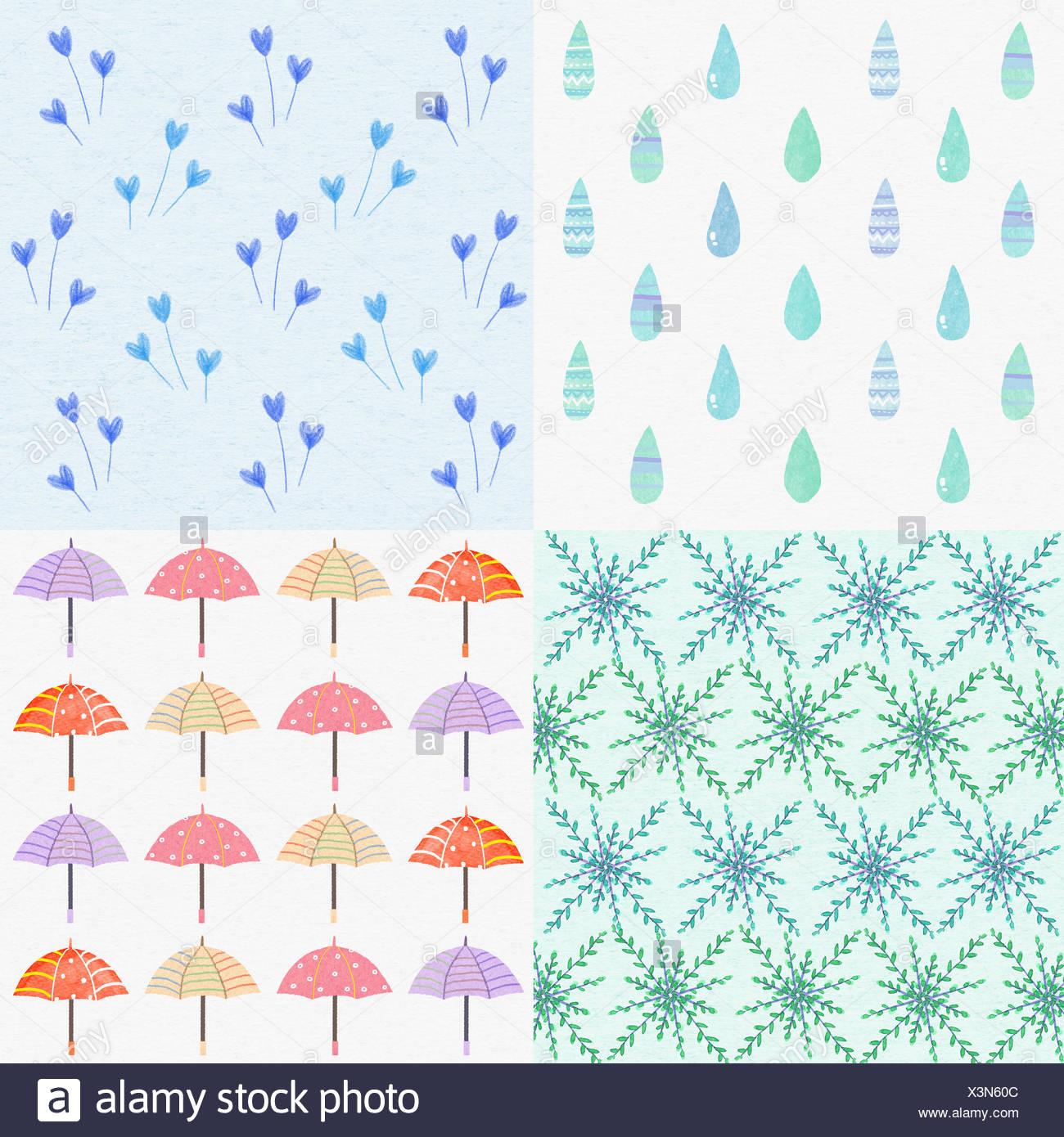 Drops Patterns Unique Ideas